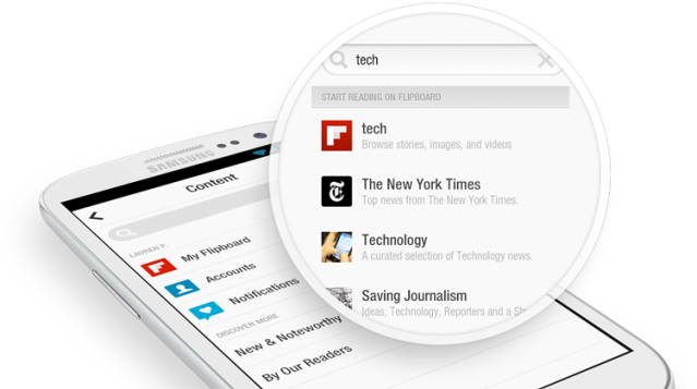 FlipBoard, versión web